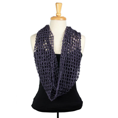 Fish Ladder Cowl in BMFA Super Sparkle | Sample Garment | Twisted