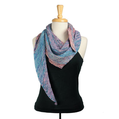 Illusion Shawl in Less Traveled Sport | Sample Garment | Twisted