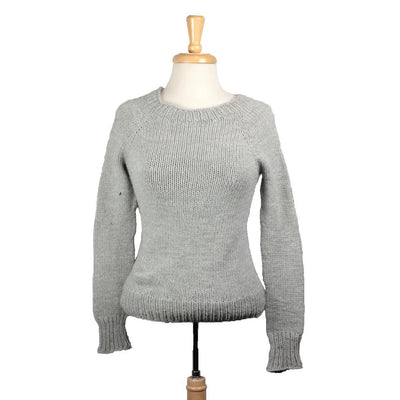 Lesley Sweater in Quince & Co. Osprey | Sample Garment | Twisted