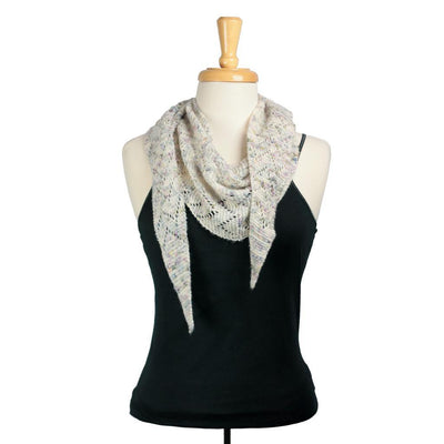 Miso Shawl in BMFA Featherlight | Sample Garment | Twisted