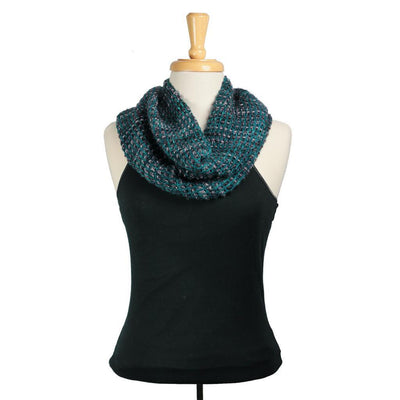 Morton Cowl in Malabrigo Mechita and Mecha | Sample Garment | Twisted