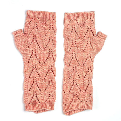 Nettle Mitts in Hazel Knits Entice | Sample Garment | Twisted