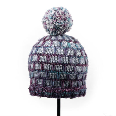 Sarandi Hat in Malabrigo Mecha | Sample Garment | Twisted