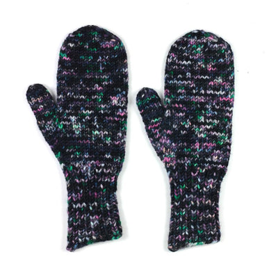 The World's Simplest Mittens in Knitted Wit Bulky | Sample Garment | Twisted