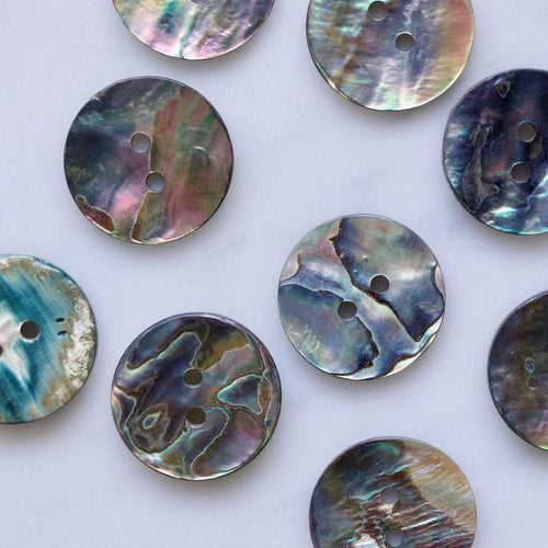 | Abalone Shell Buttons from Skacel | Twisted