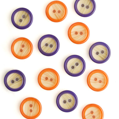 | Color-Rim Buttons from Skacel | Twisted