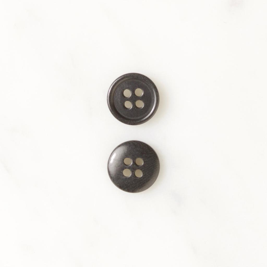 Navy 13mm | Corozo Four-Hole Buttons from Skacel | Twisted