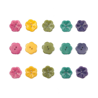 | Little Flower Buttons from Skacel | Twisted
