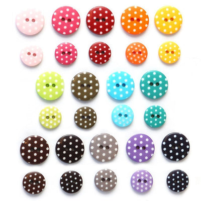 | Polka Dot Buttons from Skacel | Twisted