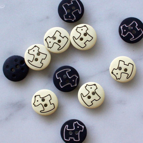 | Scottie Dog Buttons from Skacel | Twisted