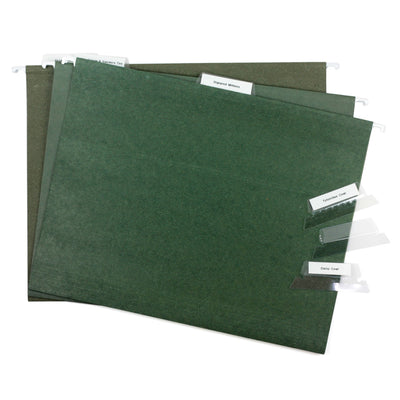 100% Recycled Hanging File Folders - Lot of 119 - USED - FREE - PICK UP ONLY | Twisted