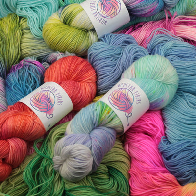 | Wildstar Fibers Supernova Sock Yarn | Twisted