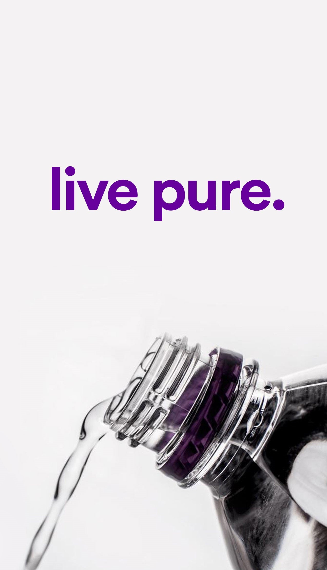 Live Pure Banner