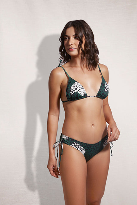 Bottom Porto Leopard Green