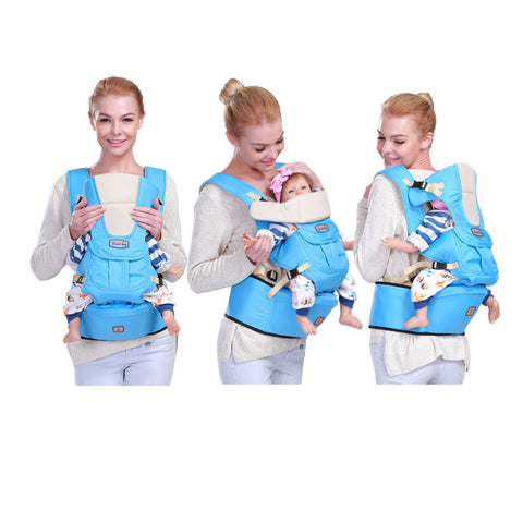 0-36 m infant back baby carrier sling backpack bag baby hipseat wrap 360 basket for newborns hip seat hiking