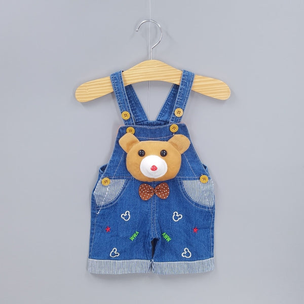 Boys Girls Jeans Overalls Shorts Toddler Denim Rompers Cute Cartoon Pants Summer Clothes