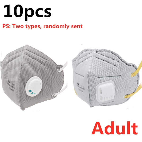 10pcs N95 KN95 Anti-Fog Mask Child Adult PM2.5  Healthy Air Filter Dust Proof Protection