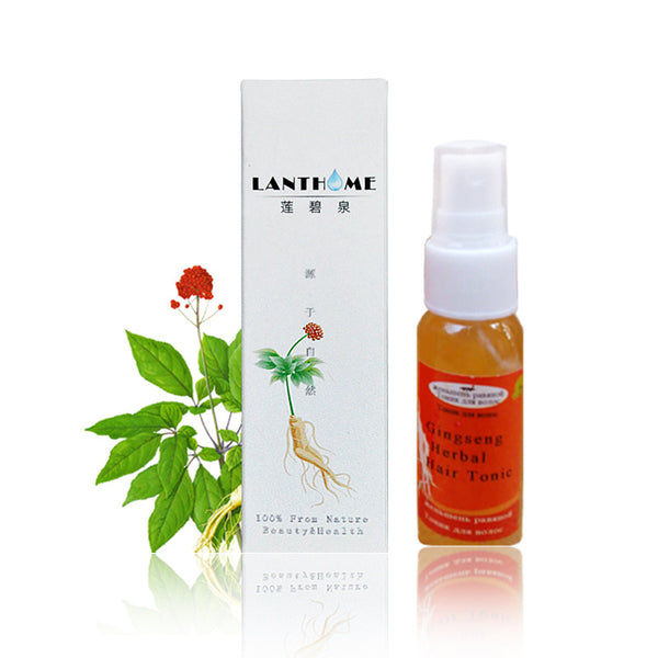 Lanthome Brand Hair Care Repair Damaged Best Hair Growth Natural Ginseng Oil Essence Hair Products