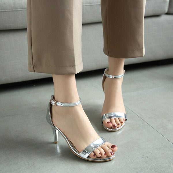 Ladies High Heels Sandals Open toe Woman Party Shoes
