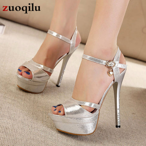 Women Pumps Peep Toe Platform Heels Women Shoes