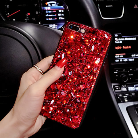 3D Bling Glitter Rhinestone Cover+Luxury Girl Woman Lady Crystal Diamond Phone Case For Meizu m3/5 note/u10/pro 6/7/M5s/M3s/U20