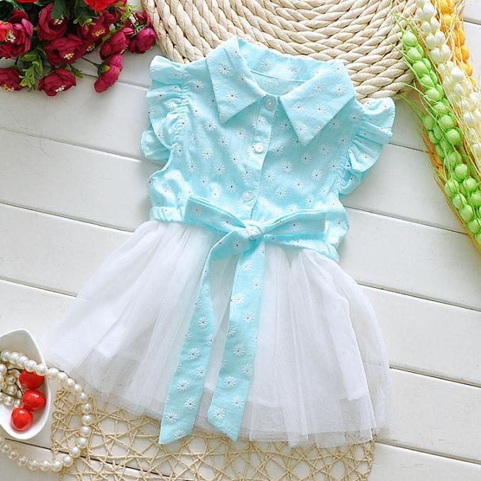 f62d5c38fdc2e Summer Newborn Baby Dress Cotton Lace Beautiful Flower Girl Dresses Baby  Clothing Vestido