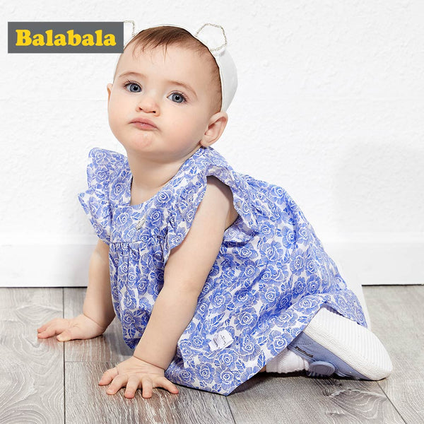 Baby Girl Summer Dresses Clothing Sleeveless Princess Clothes