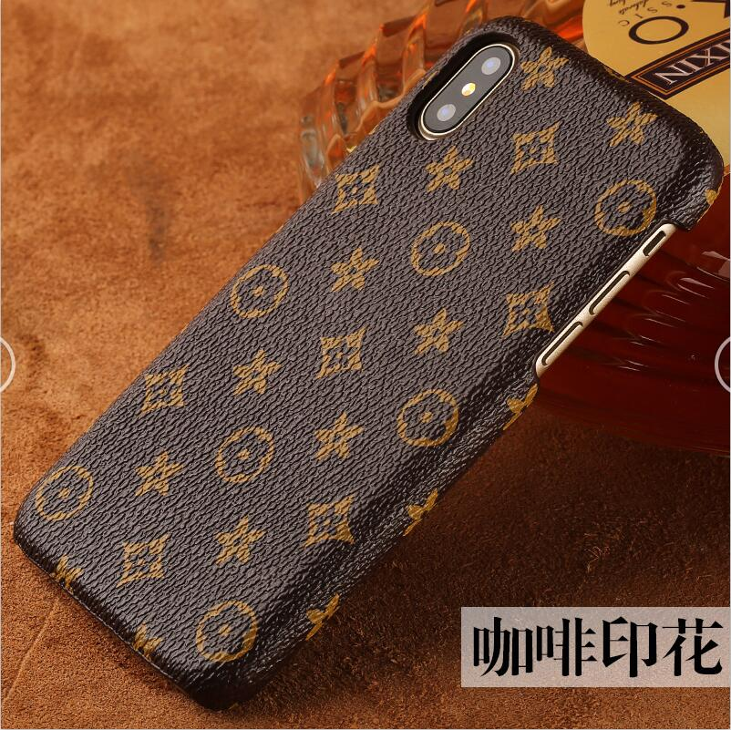 phone case old flower cover phone case For iphone X Case phone case full manual custom processing
