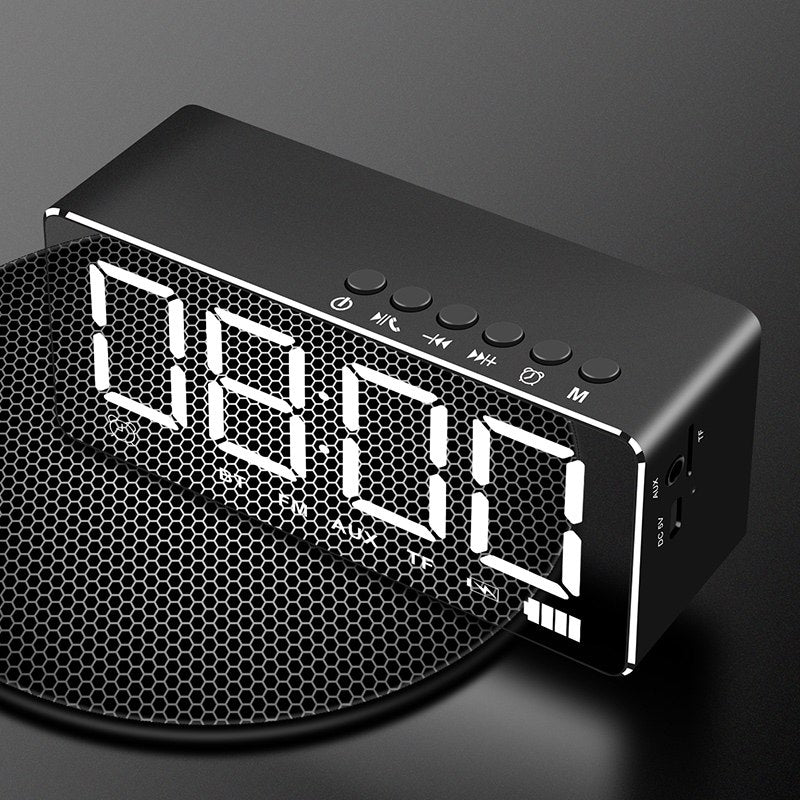 Mirror Smart Bluetooth Alarm Clock