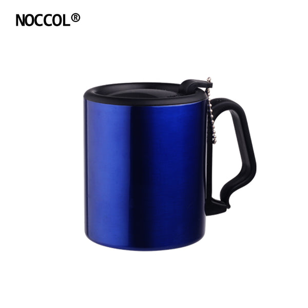 Fashion Colors Stainless Steel Coffee Cup Eco Friendly Home Office Drinkware