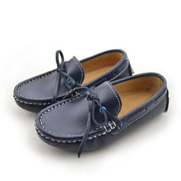 Baby Toddler Casual Moccasins Princess Girls Boys Genuine Leather Parental Dress Shoes  1