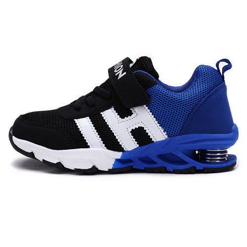 4ec8b23e1 New Design Children Sports Shoes Boys Girls Spring Damping Outsole Slip  Patchwork Breathable Kids Sneakers Child