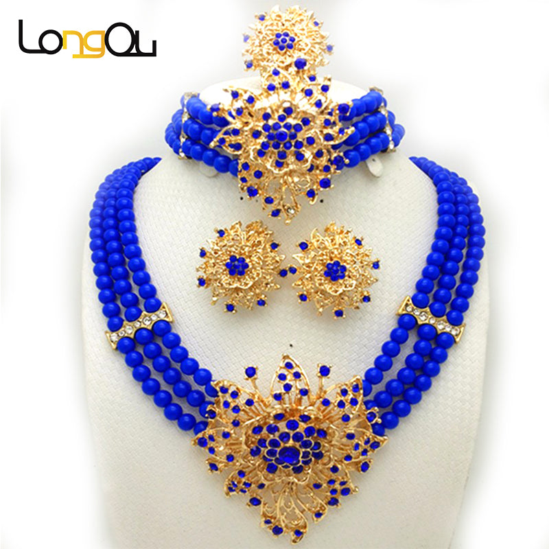 New Wedding African Jewelry Sets for women fashion jewelry 2018 ...