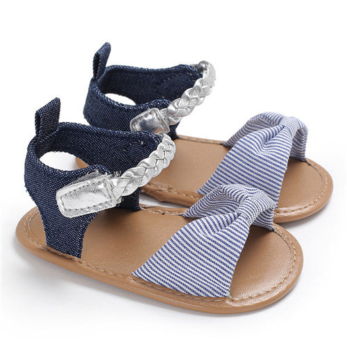 Summer Dotted Bow Newborn Baby Playtoday Beach Sandals