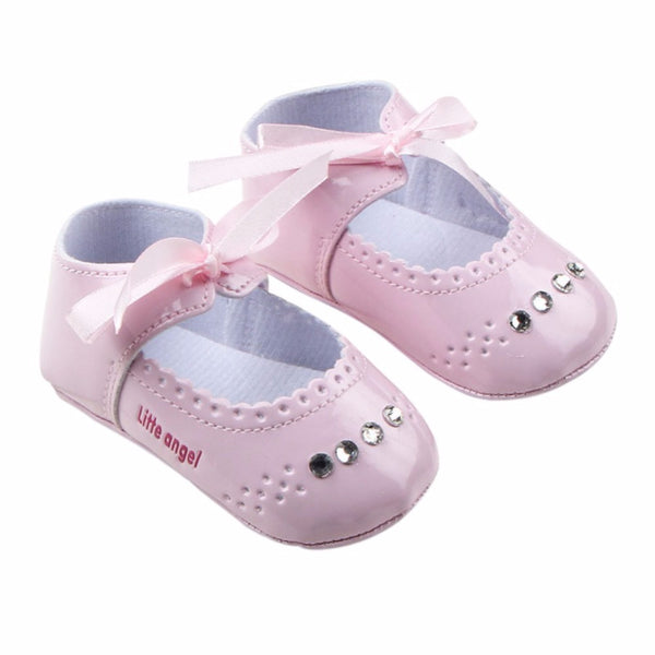 Toddler Baby Girl First Walkers Soft Diamond Princess Shoes Prewalker Sneaker 0-12M