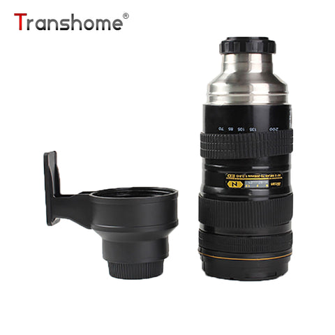 580ml Thermos Bottle Creative Stainless Steel Nikon SLR Camera Lens Insulation Bottle For Coffee