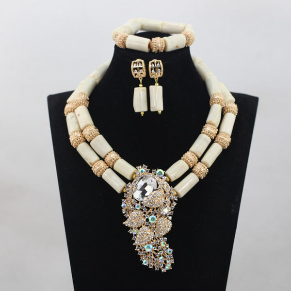 African Wedding Coral Jewelry Set Latest Jewelry Set Coral Beads Jewelry Set for Women