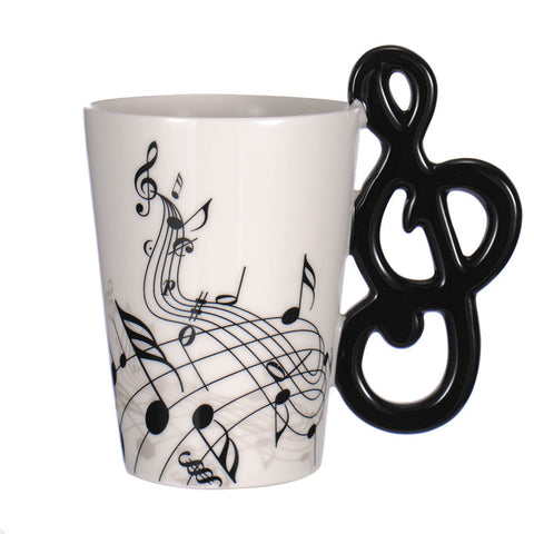 Guitar Ceramic  Mug Coffee Tea Cup