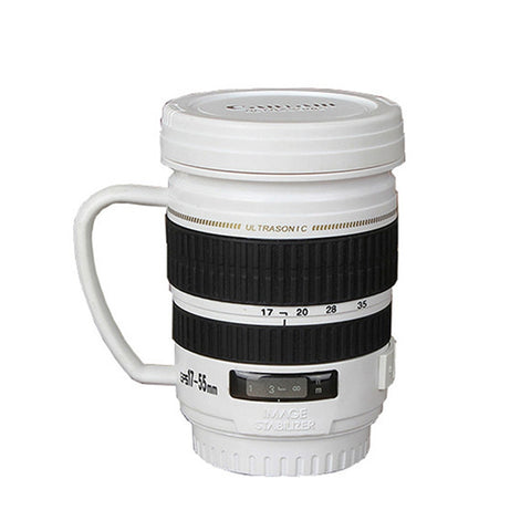 Mini DSLR Lens Insulation Coffee Mug