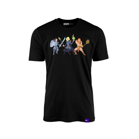 Eurogamer - Pixel Warriors T-Shirt - EGX Digital Exclusive