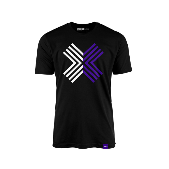 EGX Digital Logo Tee - Black