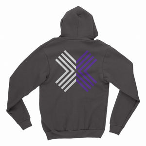 EGX Digital Logo Zip Up Hoody - Black