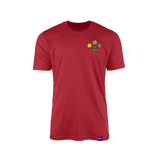 Planet EGX Charm Shirt -  Deep Red