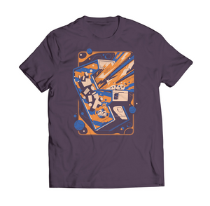 EGX Retro T-Shirt - Purple & Orange