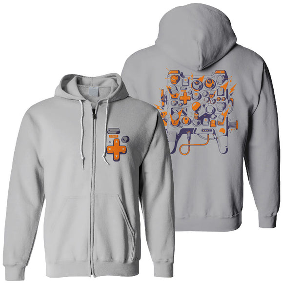 EGX Controller Zip Up Hoody