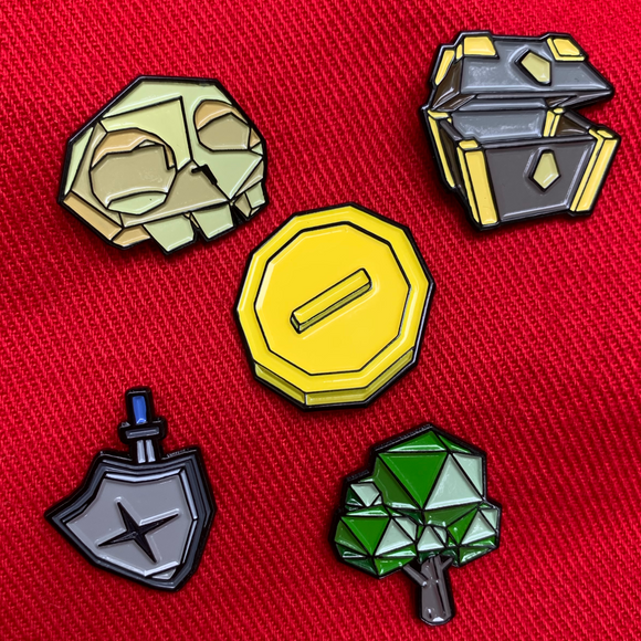 Planet EGX Pin Badge Bundle