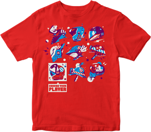 EGX 'Select Player' T-Shirt - Red