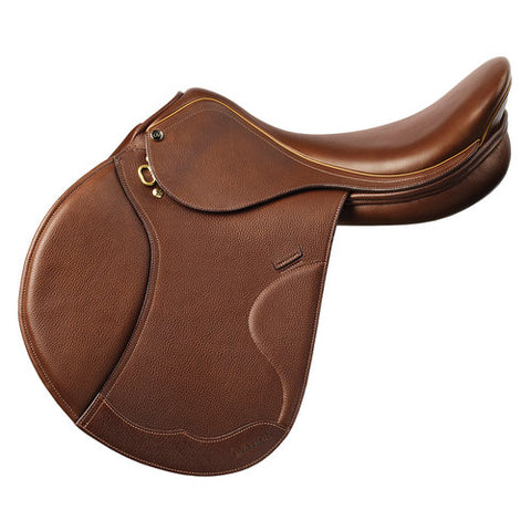"Ovation® Palermo Close Contact Saddle 16.5"" Reg Flap Medium Tree"