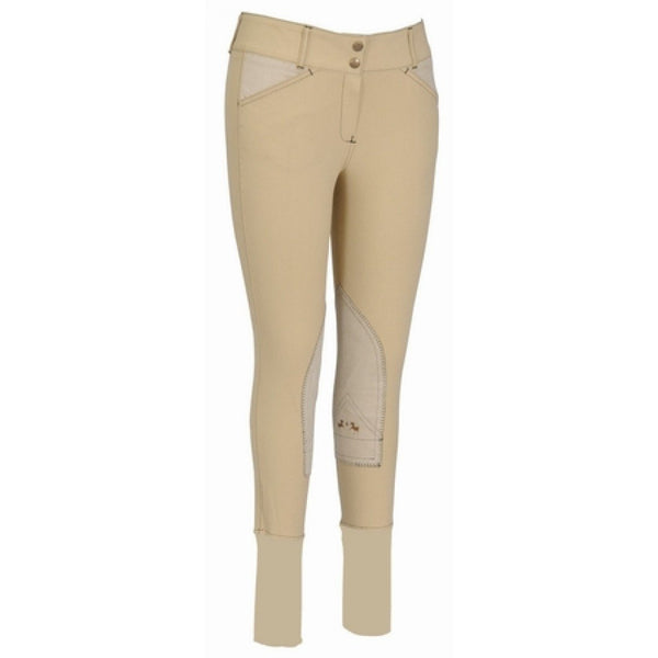 Equine Couture Ladies Sportif Natasha Knee Patch Breeches