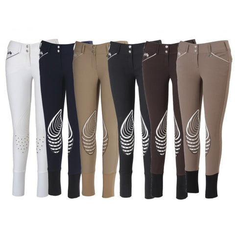 EQUINE COUTURE LADIES BRITTNI KNEE PATCH BREECHES
